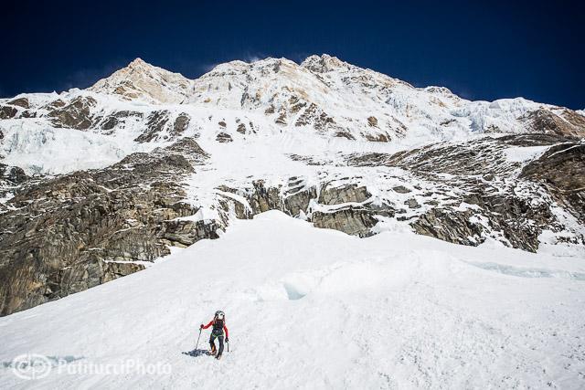 Ueli Steck Annapurna climb