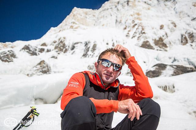 Ueli Steck Annapurna portrait