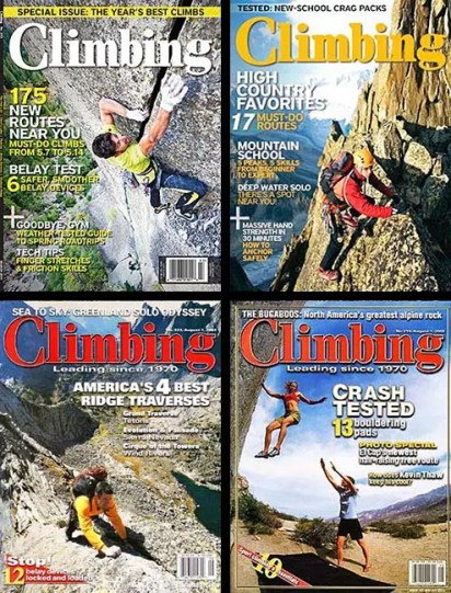 Climbing Magazine : Assignments & Stock Licensing
