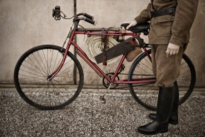 The historical vintage cycling event L'Eroica