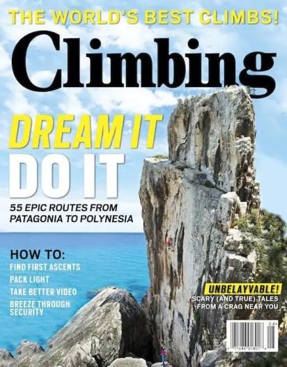 Climbing Magazine : Assignments & Stock