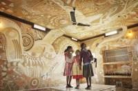 Amazing Mud Paintings on School Walls in Bihar