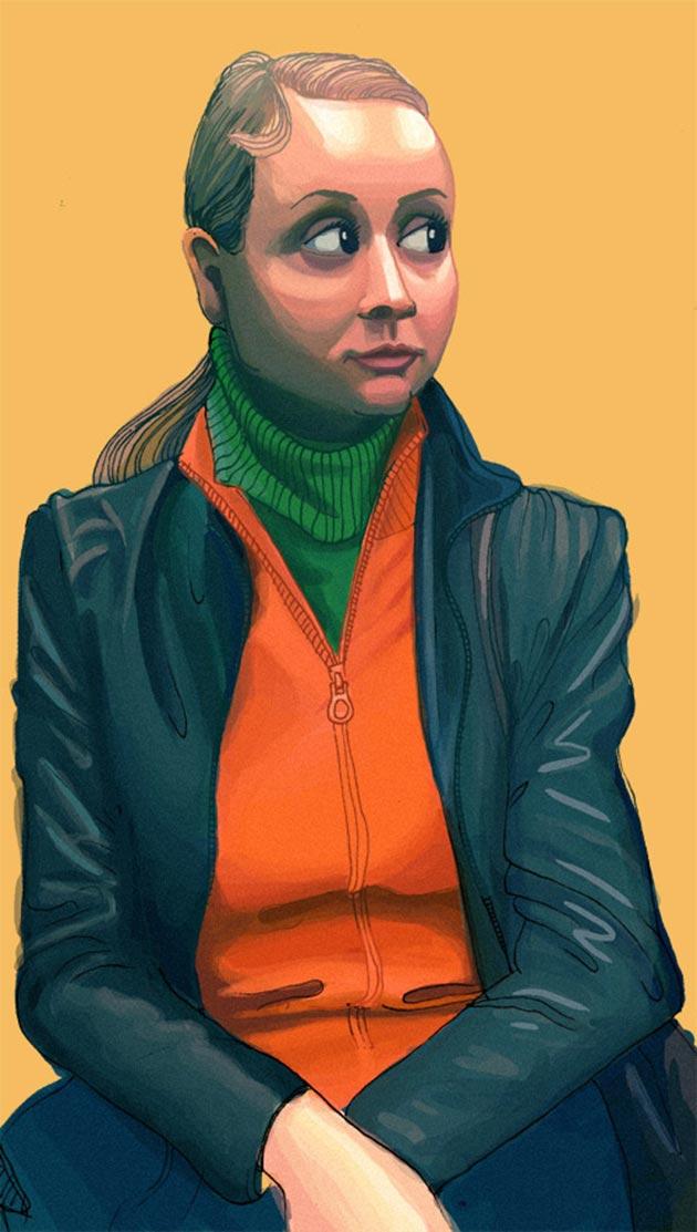 Cecilia - The Metro Sketch