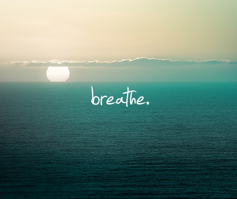 Take a deep breath. #meditation