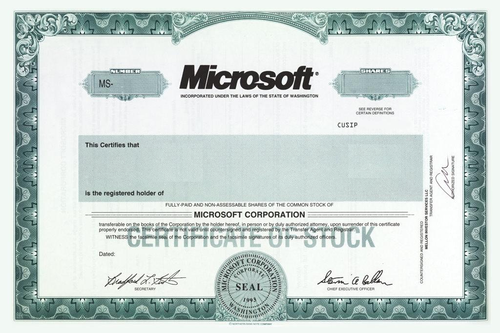 microsoft stock certificate template - Goalgoodwinmetals - microsoft certificate template