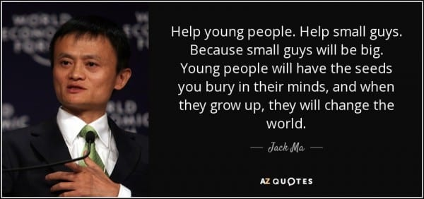 Badminton Quotes Wallpaper Jack Ma Founder Of Alibaba Talks About Poor People
