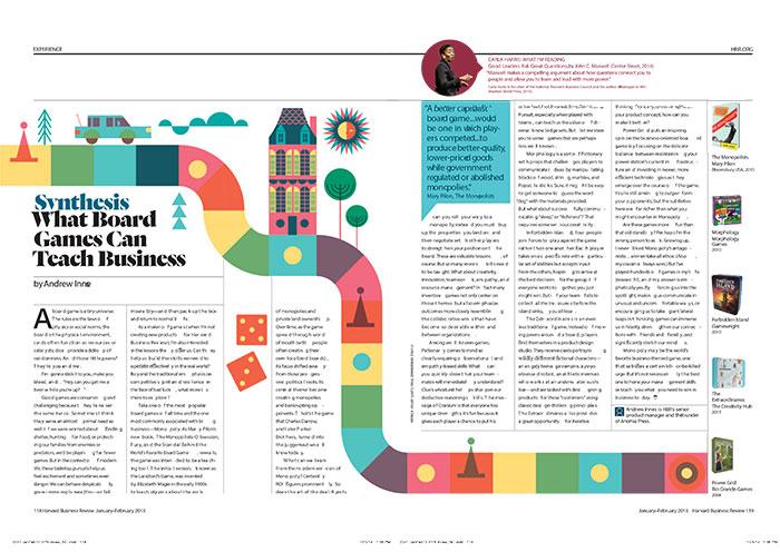Harvard Business Review « Patrick Hruby Illustration