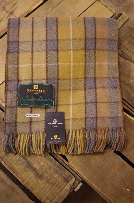 Highland Collection - Natural Buchanan Blanket