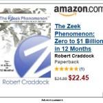 UPDATE: Ad For Book By Zeek Figure Robert Craddock Appears On Drudge Report