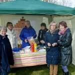 Der Patronatskirchenverein sorgte für Würstchen und Getränke.