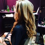 Jackson MI hair stylist Jacquelyn Shepherd curls