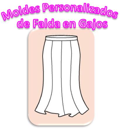 Personalizados Falda Gajos