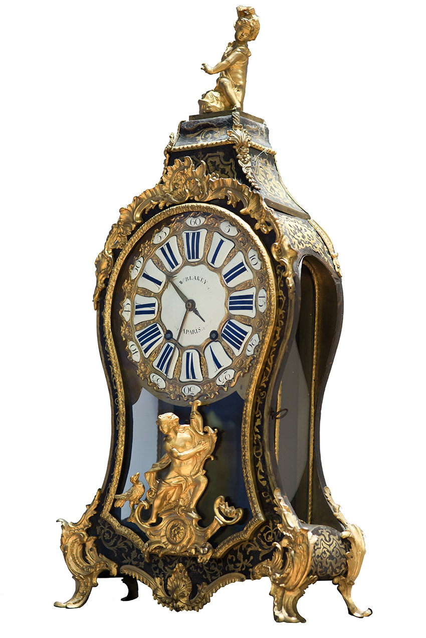 The Louis Xv Clock And The Rococo Style Patrons