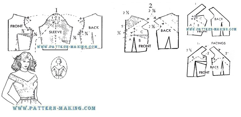pattern-making wp-content uploads 2013 07 draft-halter - pattern block template
