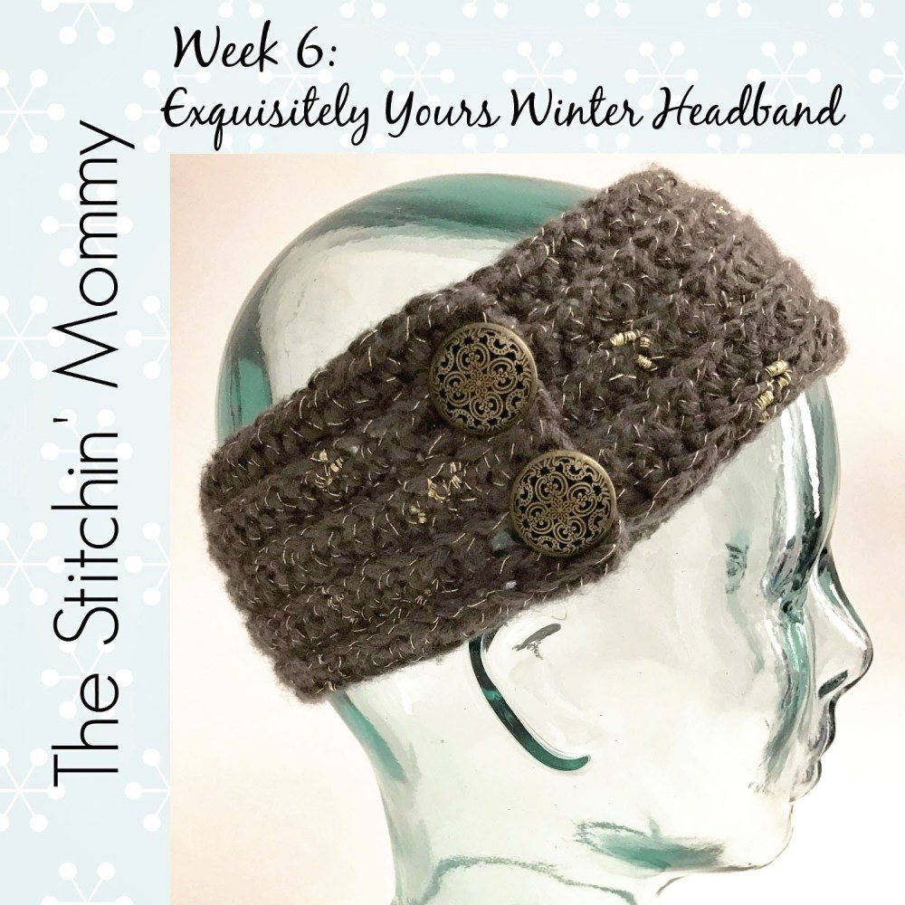 Exquisitely Yours Winter Headband: #12WeeksChristmasCAL Week 6