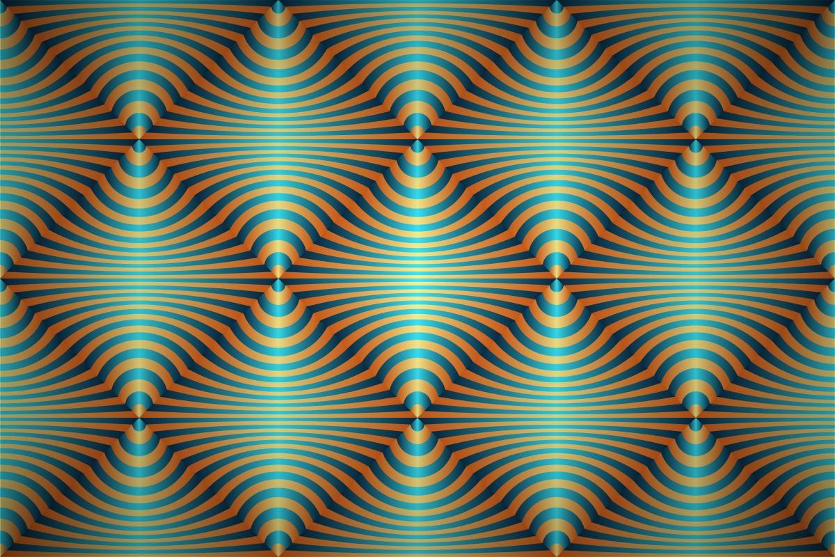Free 3d Flower Wallpaper Free Optical Art Stripes Wallpaper Patterns