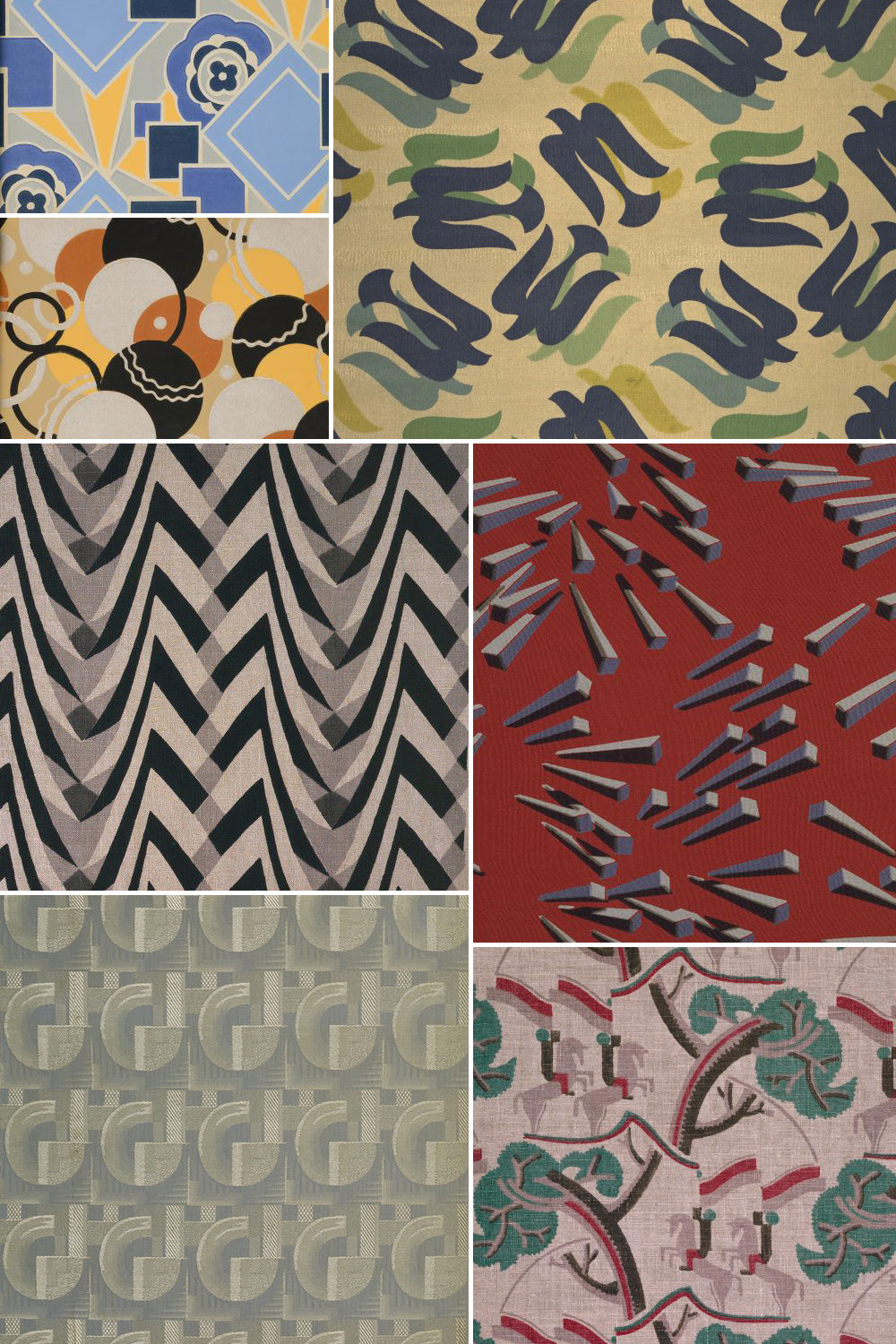 Design Art History Of Surface Design: Art Deco - Pattern Observer