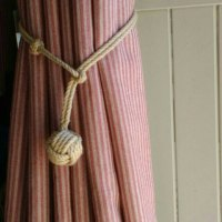 78 Curtain Tie Backs To Take Inspiration From - Patterns Hub