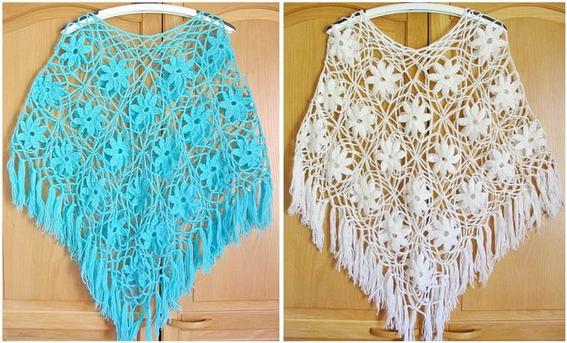 37 Creative Crochet Poncho Patterns For You Patterns Hub