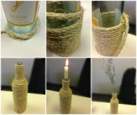 27 Ideas on How to Make Wine Bottle Candle Holders ...