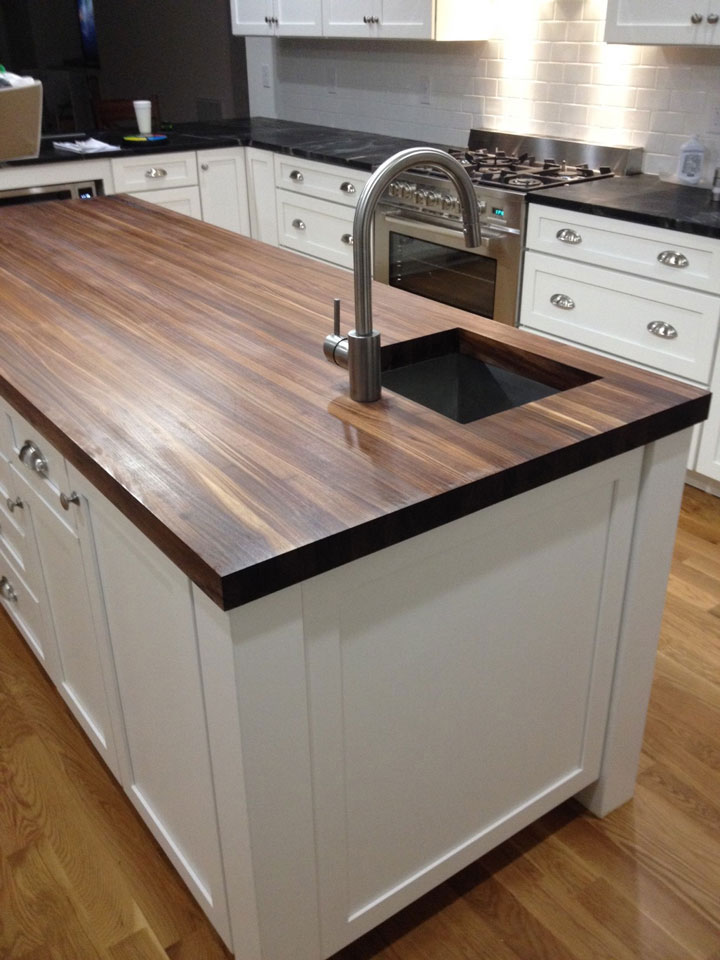 Kitchen Island Butchers Block 20 Ideas For Installing A Wooden Countertop At Your Home