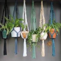 19 Macram Plant Hanger Patterns & Instructions - Patterns Hub