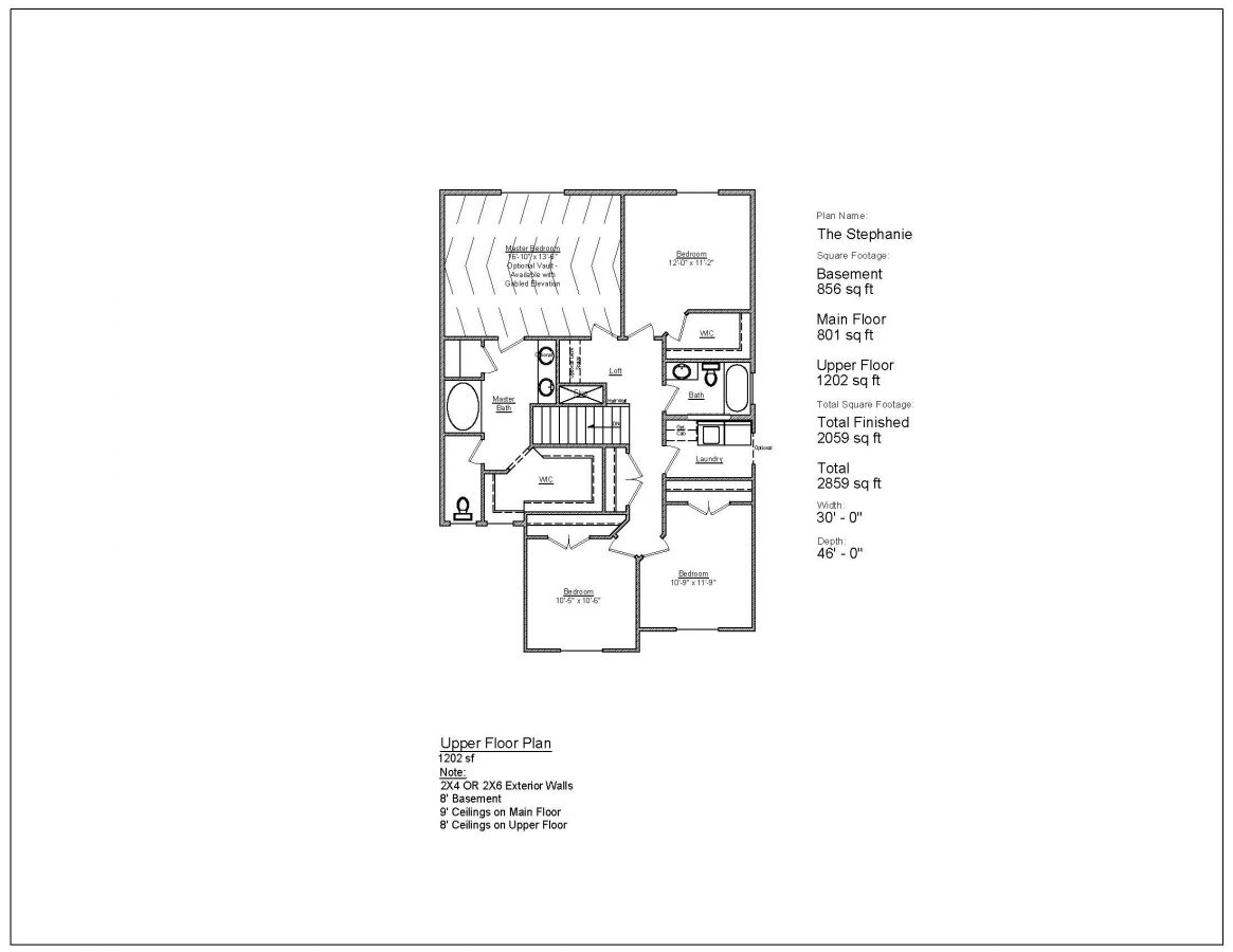 Wc Plan The Stephanie Patterson Homes