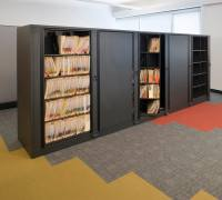 Rotary Storage File Cabinets System | Patterson Pope
