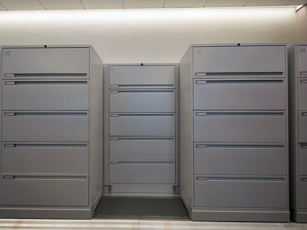 Lateral File Cabinet High Density Lateral Sliding
