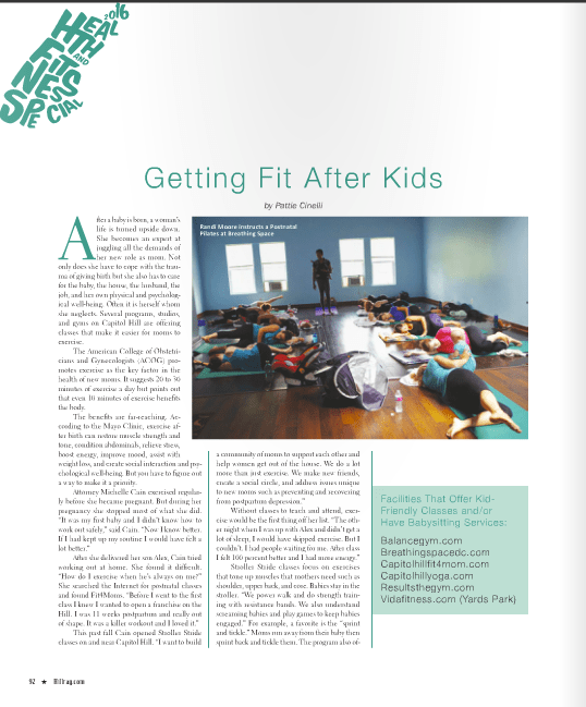 Article: Getting Fit After Birth