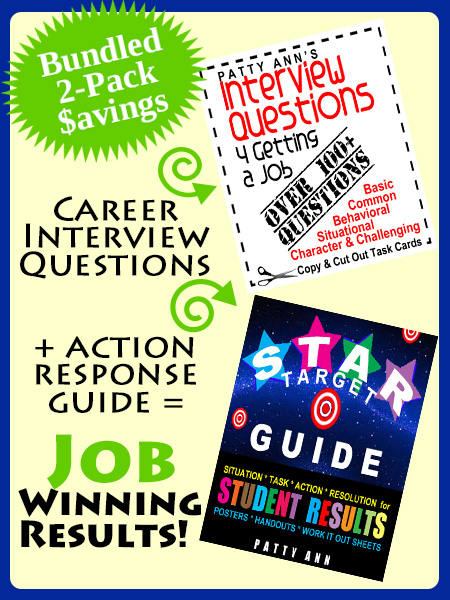 100+ Interview Questions + STAR Guide - Patty Ann Books