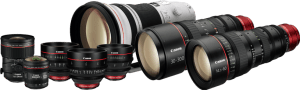 Canon digital cinema lenses