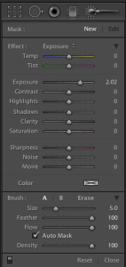 Adobe Lightroom 4 beta 2012 Basic Panel