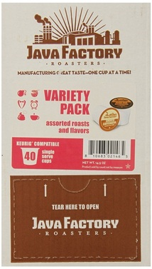 Enter to win a 40 count box of Java Factory Single Cup Coffee in the #JavaFactoryGiveaway by 7/10