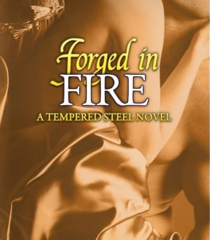 Book Cover, Forged in Fire, by Maggie Adams
