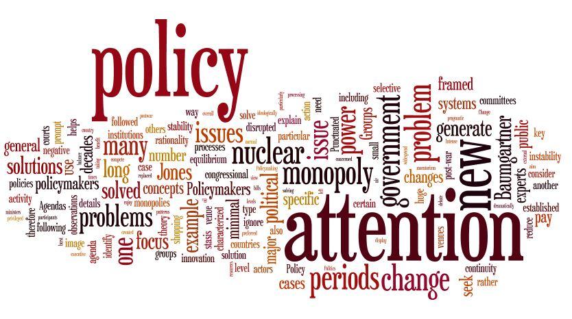 venue shopping Paul Cairney Politics  Public Policy - political agenda template