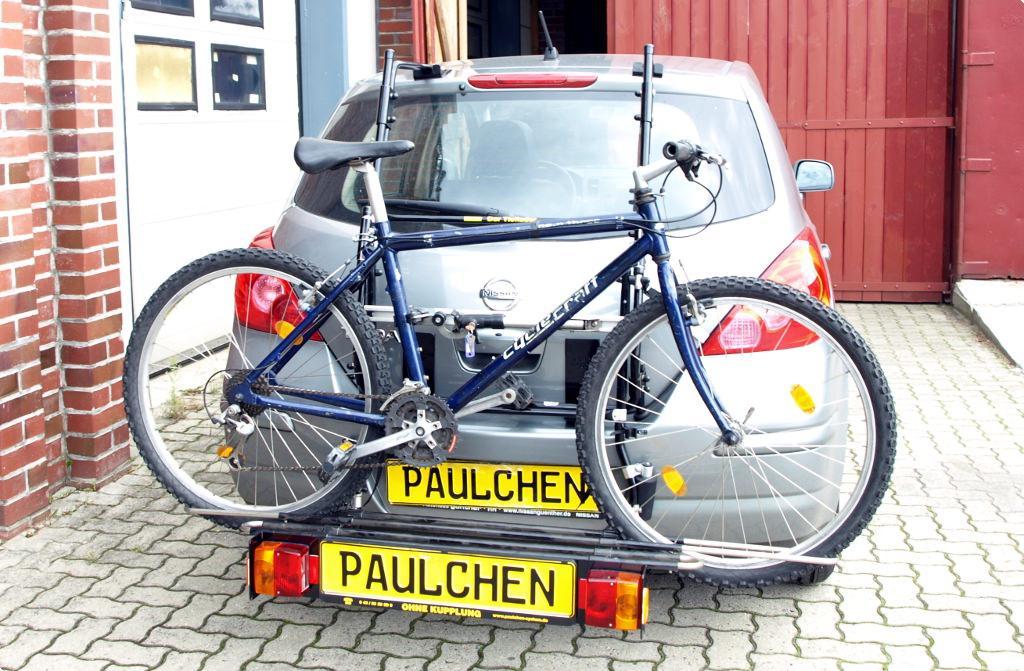 Nissan Tiida Bike Rack Paulchen Hecktrager System