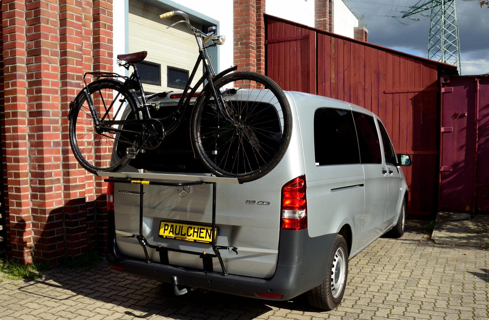 Mercedes Vito Tourer Bicycle Carrier For Mercedes Vito Tourer W447 Paulchen