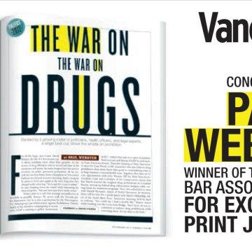 Vancouver Magazine congratulations