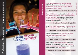 Photographer Bristol - Paul Groom Photography