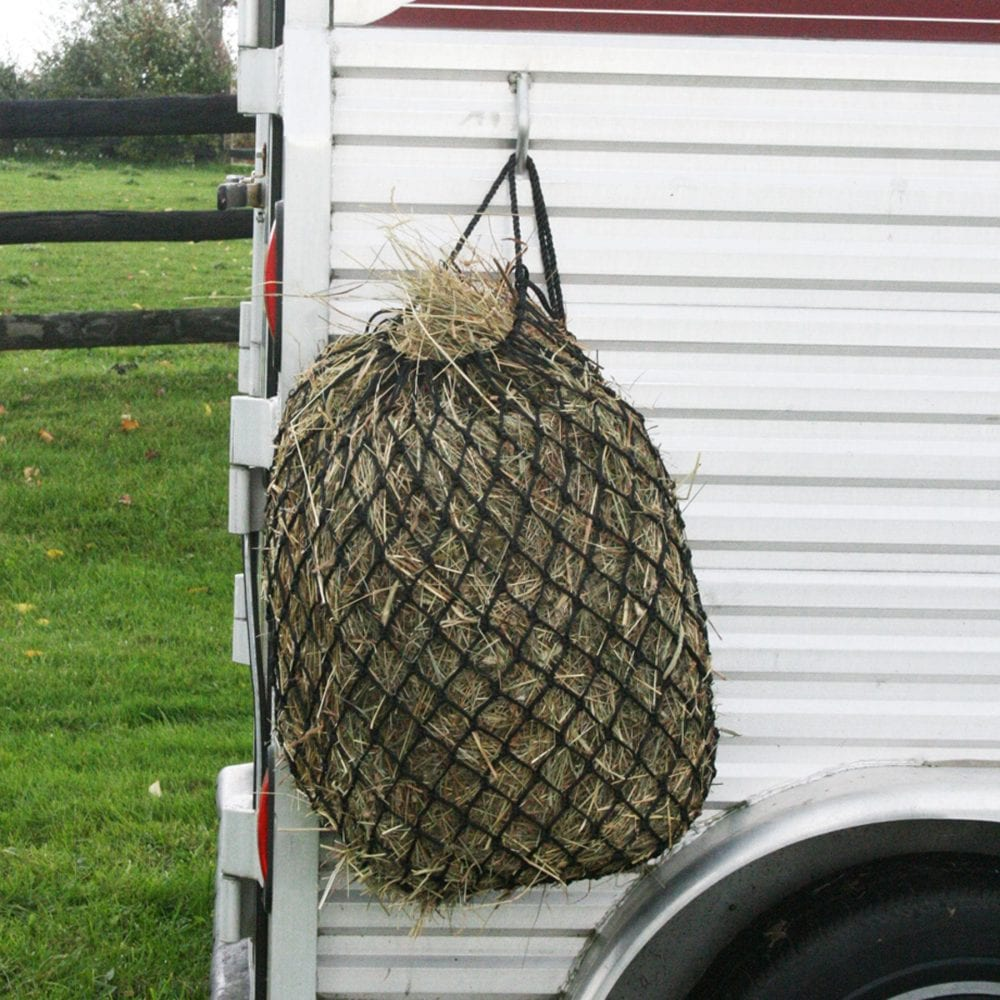 Feed Hay Advantages Of Hay Nets And Hay Feeders Horse Racing News