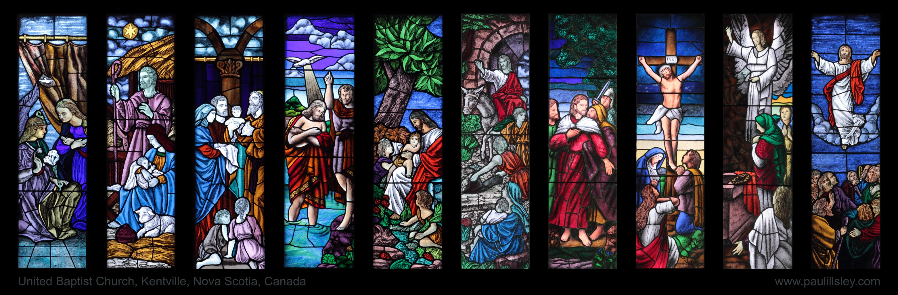 Cana Windows Stained Glass Windows