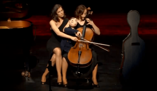 Salut Salon Concert Cello Con Affetto 5: Cello & Comic Puppetry – Sonja Lena