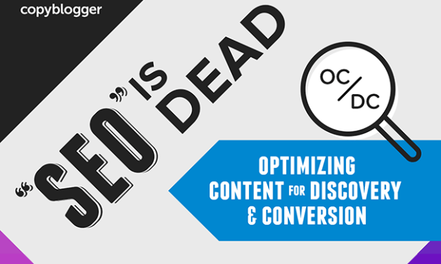 SEO is Dead….OC/DC in its Place