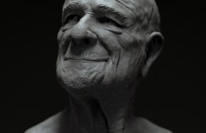 Old Man Sculpt Study