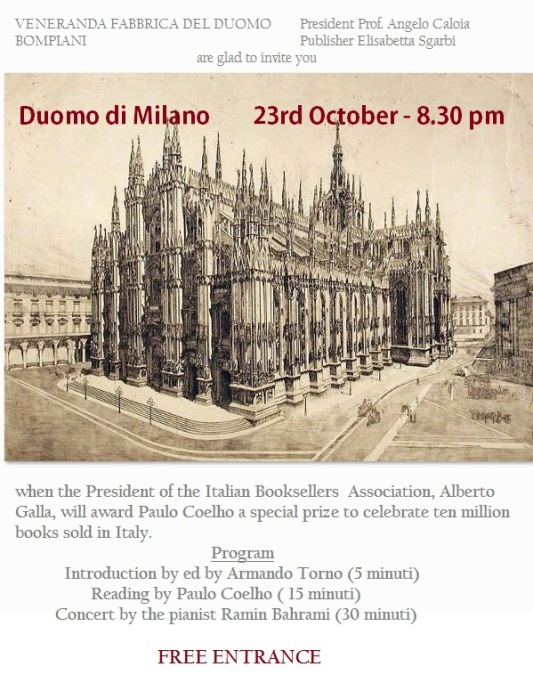 Duomo di Milano, 23 October 2013, free entrance