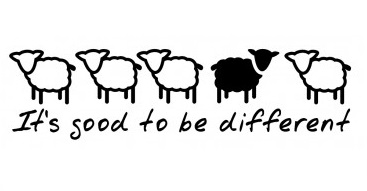 good-to-be-different-sheep-sticker-decal