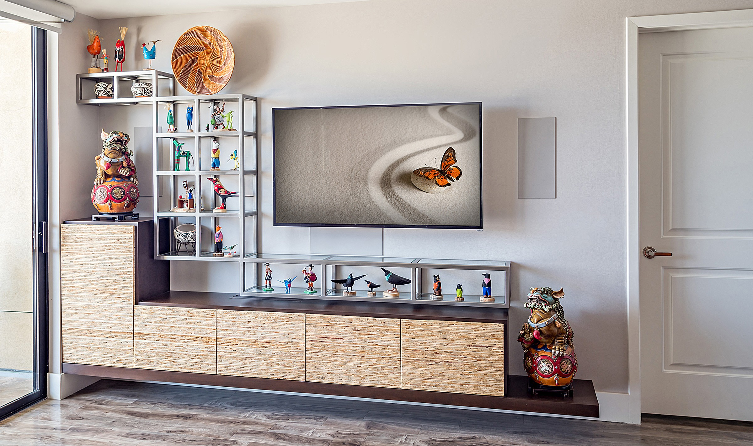 In Wall Media Cabinet Custom Home Entertainment Centers Wall Units Media Cabinets