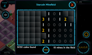 Starcoin Minefield, the minigame that may look familiar