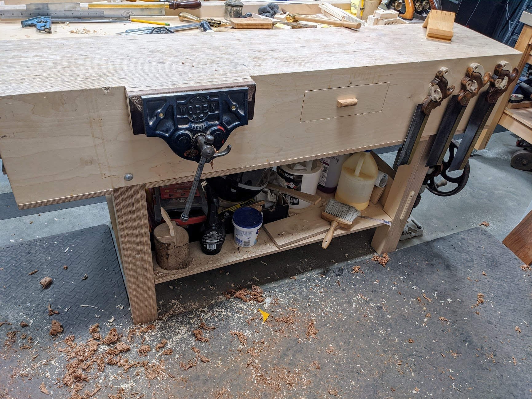 More Low Down On Workbenches Paul Sellers Blog